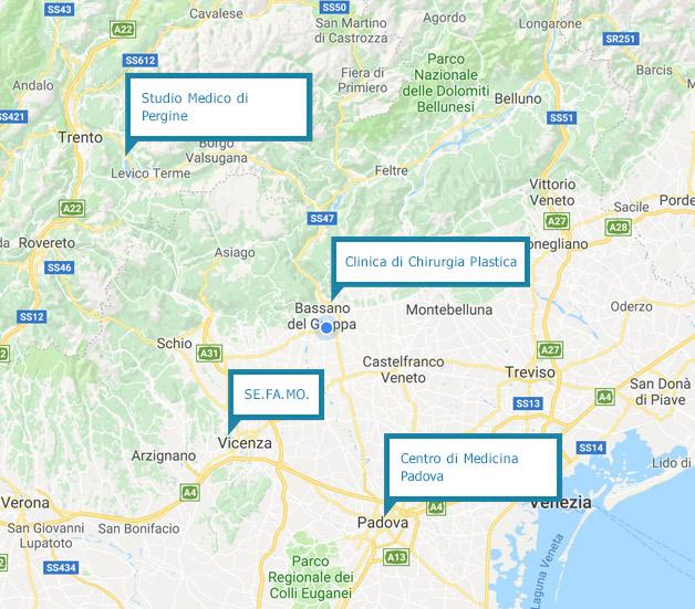 Mappa Bruno Bassetto